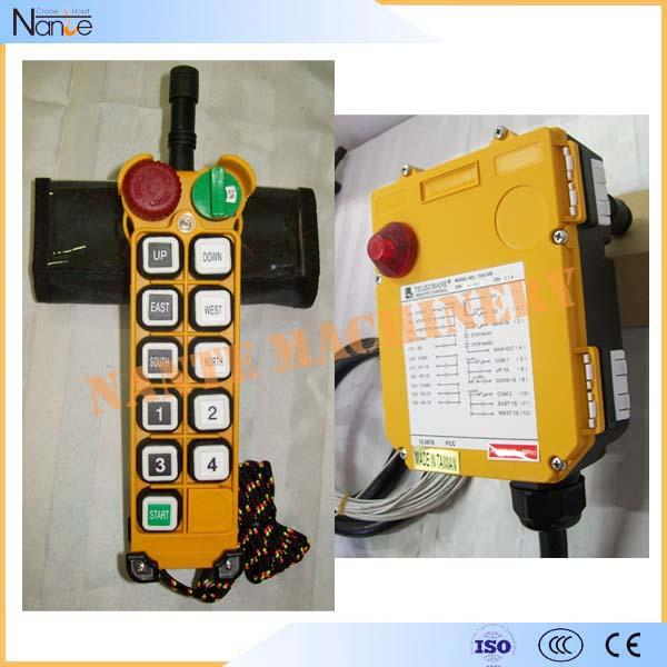 Housing Industrial Radio Remote Controller In Durable Nylon-Fiber , TELECRANE F24-10S