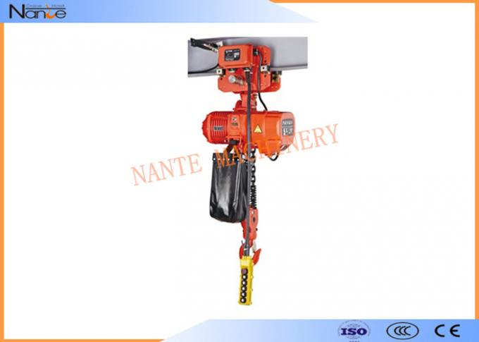 2 Ton / 5 Ton Electric Hoist Trolley Lever Chain Hoist With Safety Hook