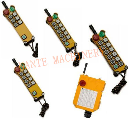 Telecrane Wireless Hoist Remote Control Power Switch ID Code Available
