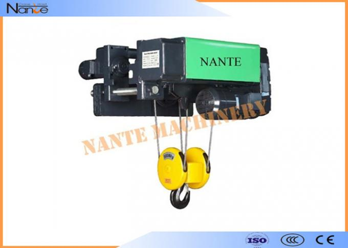Electric Winch Hoist Equipment Electrical Wire Rope Hoist 7.5/2.0m/Min