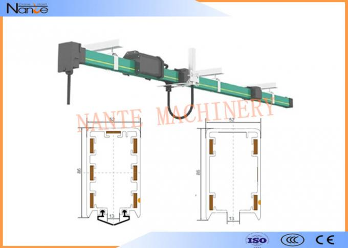 PVC Conductor Conductor Rail System Copper Power Line System For Electric Tools
