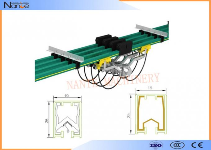 Corrosion Resistance Crane Conductor Bar Stacking Systems Supplying Power