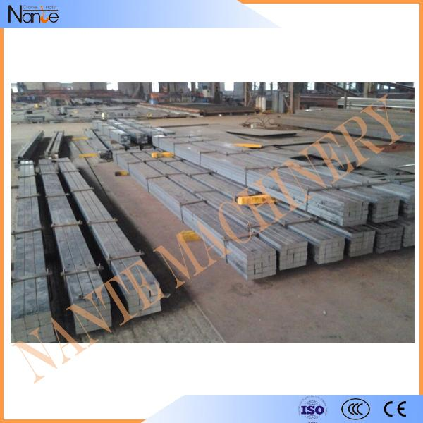 Overhead Crane Accessories Square Solid Steel Bar / Hot Rolled Steel Flat Bar