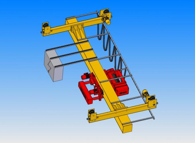 European Style Overhead Crane End Carriage Max Capacity 20t At Speed 32m / Min