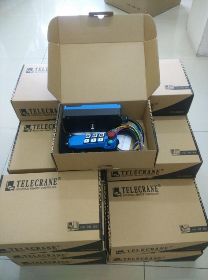 Single Speed Blue Color Wireless Hoist Remote Control Used For Industrial Work