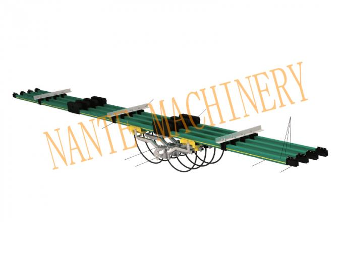 Aluminum NCT-500 / NCT*2-500 Carbn Brush for NSP-H32 Conductor Rail Accessories