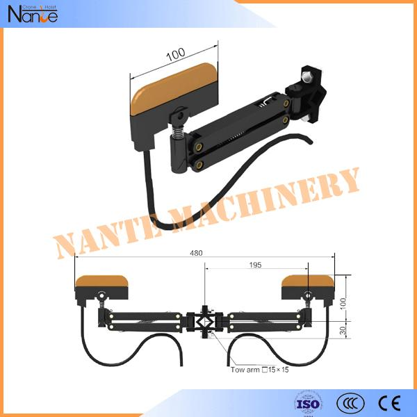 Flexible Crane Conductor Bus Bar Single Double Side Current Collector