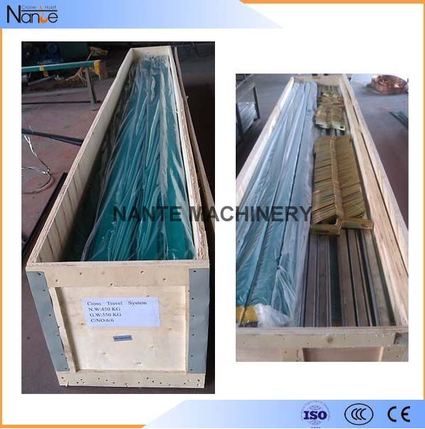 4 Poles Conductor Rail System Enclosed Insulated Conductor Bar PVC Housing