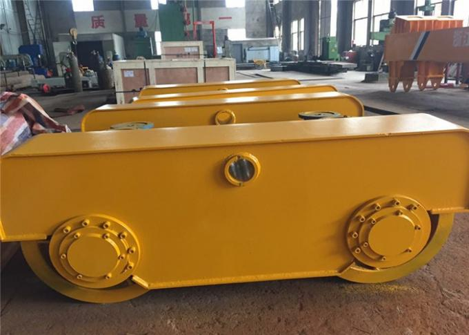Crane Wheels Wheel Block End Crane Bogie With Motor For Cranes Logistic Industry
