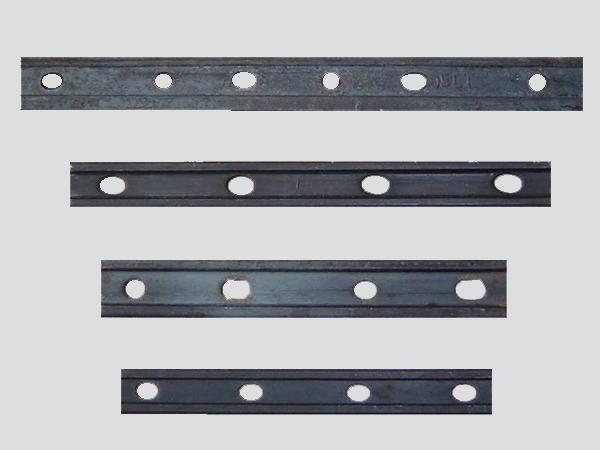 Crane Rail Accessories Crane Components Fish Plate FP Series For Steel Rail