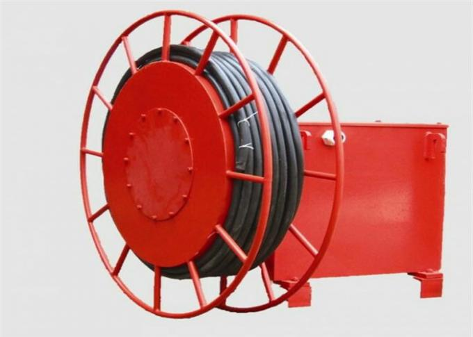 Long Life Overhead Crane Components Power Supply Cable Reel Indoor Use 0