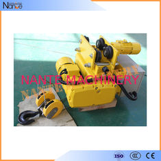 Low Headroom Electric Wire Rope Hoist Dual Rail Refined Structure