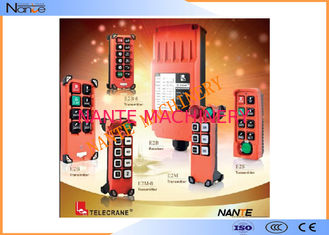 China Telecrane Wireless Hoist Remote Control Single Speed Fiberglass F21 Series supplier