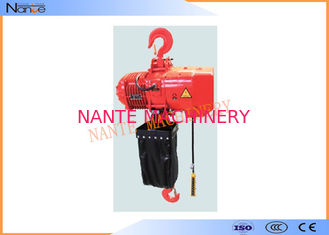 China Construction Suspension Electric Chain Hoist Low Headroom 5 Ton 1~7.6m/min supplier