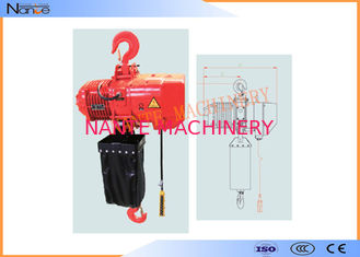 China Hard Hook Electric Chain Hoist With 360 Degree Rotatable Safety supplier