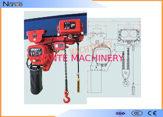 China Low Headroom Heavy Duty Motorized Stage Hoist High Wearable And Anti Corrosive supplier
