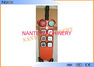 China Radio Hoist Push Button Switch Crane Remote Control 6 Buttons Within 100m supplier