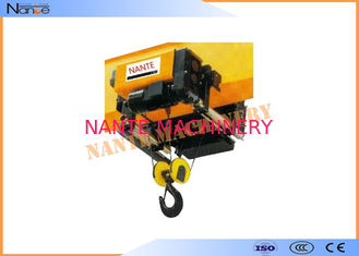 Construction Low Headroom Trolley Hoist 2160kn/Mm Used In The Factory