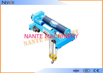 China Low Headroom Electric Wire Rope Monorail Hoist Workstation Steel supplier