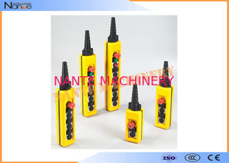 China IP65 Industrial Remote Pendant Control Stations Plastic For Crane supplier