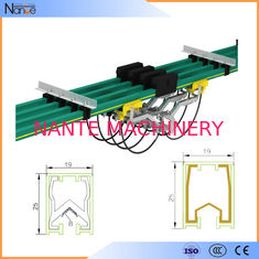 Aluminum Conductor Rail System Busbar / Single Pole Cross Travel System JDC-H