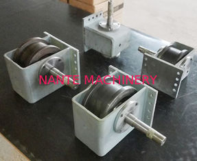 45# Hollow Shaft Crane End Carriage / Shot Blasting Wheel Block For End Carriage
