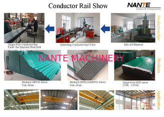 Multiple Poles Power Conductor Rail System / Enclosed Conductor Mobile Cross Travel System