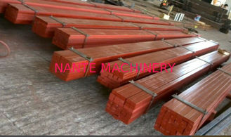 50*30 Smooth Surface Leaf Steel Crane Rail / Crane Square Billet Flat Bar with Hot rolled