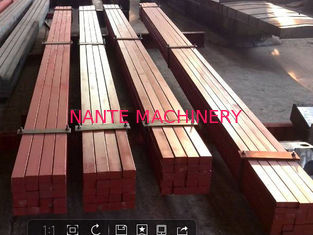 70*40 Overhead Crane Attachments Crane Square Billet Hot Rolled Leaf Treatment