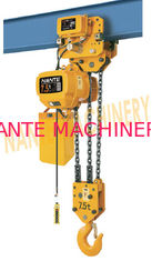 HHBB Series Electric Chain Hoist - Capacity of 7.5T for Single / Double Speed