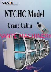 Well equipped NTCHC Model Crane Cabin With Botton Window DIY Color
