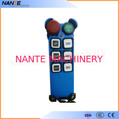China Single Speed Blue Color Wireless Hoist Remote Control Used For Industrial Work supplier