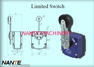China Bigger Plastic Wheel Swing Arm Rotary Electric Wire Rope Hoist Limited Switch 1.155 Weight supplier