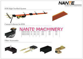 China HTR High Tro Reel Conductor Rail System With Current Capacity From 50A To 140A Of 3,4,6 Poles supplier