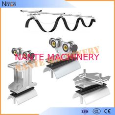 Ball Bearing Cable Trolley Wire Rope Roller For Festoon System Max.Speed 120m/min
