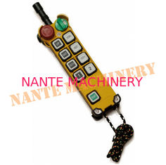 China F24 Series 8 Buttons Handheld Crane Digital Radio Industrial Telecrane Remote Control-Original from Taiwan supplier