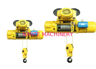 Pendent Control 0.5 Ton / 2 Ton Electric Wire Rope Hoist For Construction