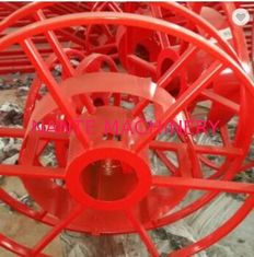 Red Motorized Crane Cable Reel Electric Cable Reeling System Mcr Series