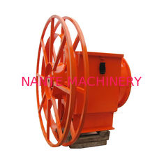 Red Surface Crane Cable Reel WITH 380V / 440V Voltage Multi - Specification