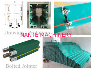 Enclosed Conductor Rail HFP Series Busbar Overhead Crane Parts PVC Housing