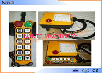 Battery Powered Telecrane Wireless Radio Remote Control For Overhead Crane
