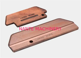 Collector Brush Pad Crane Conductor Bar For Current Collector Crane Power Rail Busbar