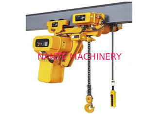 Factory 2ton 3m 110v/220v Low headroom electric chain hoist
