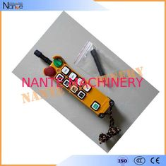 IP65 Crane Digital Wireless Hoist Industrial Radio Remote Control 48V