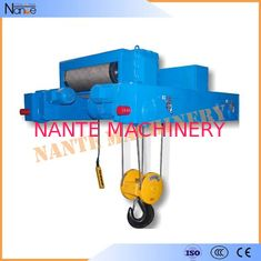 Industrial 40 Ton / 80 Ton Heavy Duty Rope Hoist Double Girder Winch Trolley