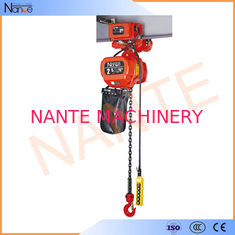 China Explosion Proof Low Headroom electric hoist trolley With Motor Drive Trolley NT Type supplier