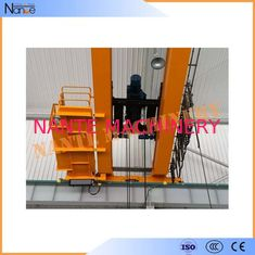 10 ton / 50 ton Dual Rail Electric Wire Rope Hoist Heavy Duty Winch Trolley