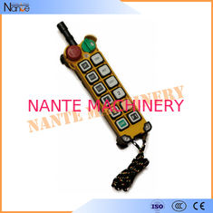 IP65 Overhead Bridge Crane Industrial Radio Remote Control F21-12D