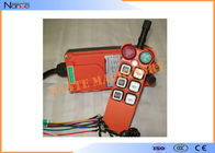 Radio Control Equipment Telecrane Radio Remote Control Low Power Consumption Transmitter