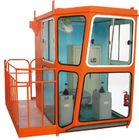 China Good Quality Red Design 1.4m Width Cabin For Overhead Crane Operator factory